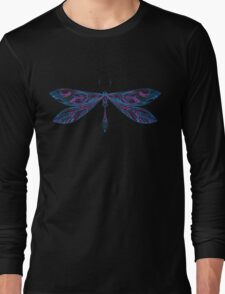 dragonfly in light shades Long Sleeve T-Shirt