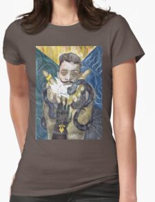 Dorian Pavus Romance Tarot Womens Fitted T-Shirt