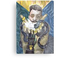 Dorian Pavus Romance Tarot Metal Print