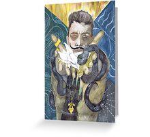 Dorian Pavus Romance Tarot Greeting Card