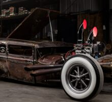1930 Ford Model A Rat Rod Sticker
