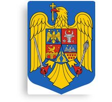 Coat of Arms of Romania Canvas Print
