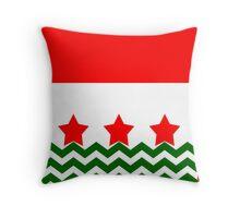 Chevron Christmas Cushion 4 Throw Pillow