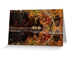 Curves Of Autumn Greeting Card