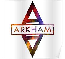 Batman Arkham Splash Color Poster