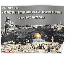 † ❤ †♚  BLESSINGS TO ISRAEL♚ † ❤ † Poster