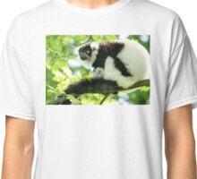 Black-and-white Ruffed Lemur Classic T-Shirt