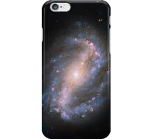 Blue Spiral Galaxy iPhone Case/Skin