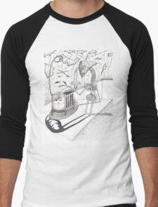 Night Terrors Men's Baseball ¾ T-Shirt
