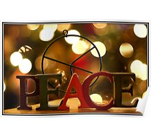 Peace at Christmas Poster