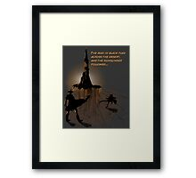 Roland's Quest Framed Print