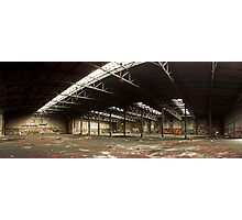 Locomotive depot Photographic Print