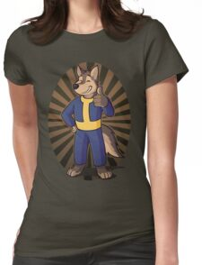 Animal - Vault Dog Womens Fitted T-Shirt