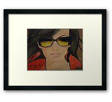 Thalia Framed Print