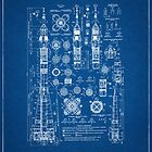 Soyuz Blueprints by Richard Plumridge