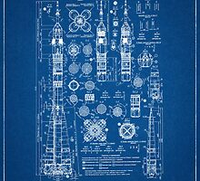 Soyuz Blueprints by Richard McKenzie