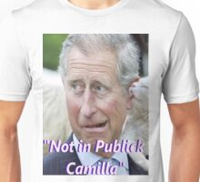 """Not in Publick Camilla Unisex T-Shirt"