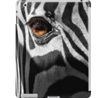 Zebra Eye iPad Case/Skin