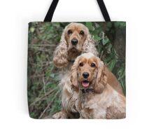 Portrait: Dad & Daughter Tote Bag