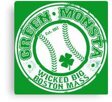 Boston Baseball Canvas Print