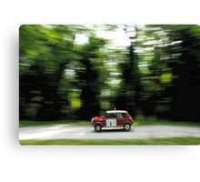 Mini Cooper RALLY - Classic Print Canvas Print