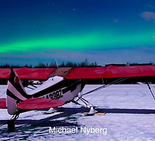 6 Mile Lake Aurora by mikewheels