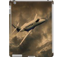 Jet Through The Clouds  iPad Case/Skin