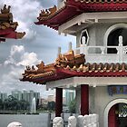 In the Garden of China (4) by Larry Lingard-Davis