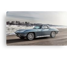 1966 Chevrolet Corvette Metal Print