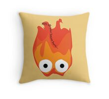 Calcifer's Curse Variant Throw Pillow