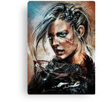 Cirilla - The Witcher Canvas Print