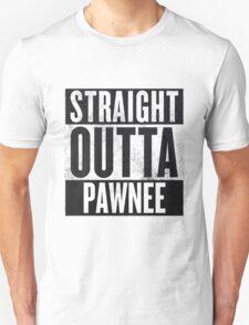 Straight Otta Pawnee - Parks and Rec T-Shirt