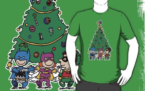 Gotham City Christmas by clockworkmonkey