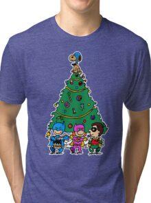 Gotham City Christmas Tri-blend T-Shirt