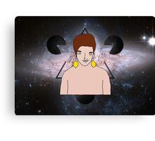 Psychedelic Lemon Man 4 Canvas Print