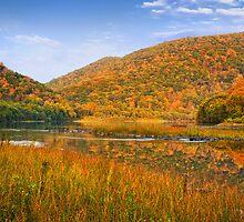 Autumn In Lock Haven by Justin DeRosa