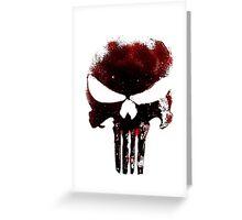 Punisher Greeting Card