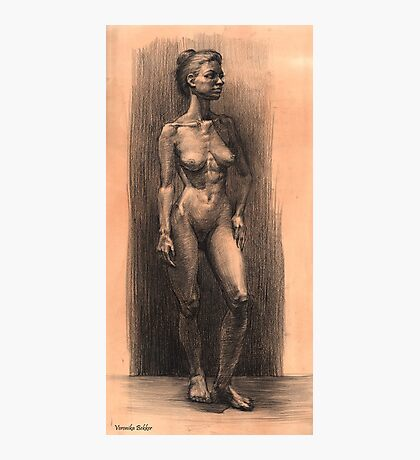 Figure in charcoal. Photographic Print