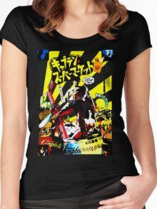 Oriental Dead Women's Fitted Scoop T-Shirt