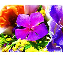 Flower ornament Photographic Print