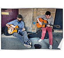 Gypsy Jazz Musicians, Paris. Poster
