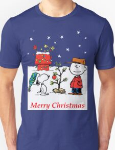 Charlie Christmas Tree Unisex T-Shirt