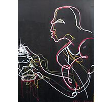 Graffiti Man Photographic Print