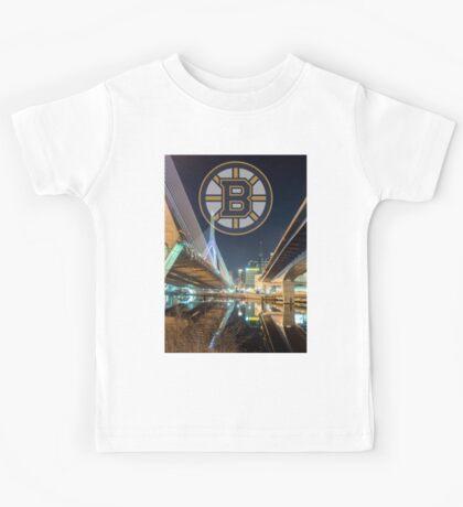Bruins over Boston Kids Tee
