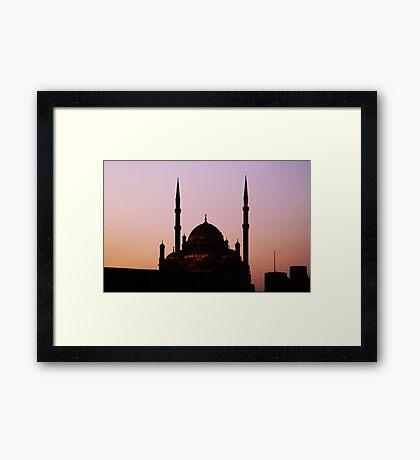 Mosque Framed Print