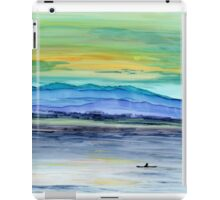 Kayakers Solitude iPad Case/Skin