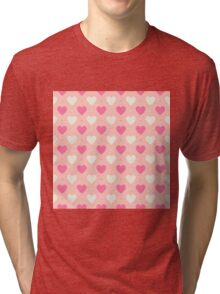Candy Hearts Tri-blend T-Shirt