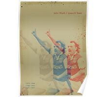 John Wark - Ipswich Town Poster