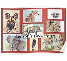 Season's Greetings from Africa Poster