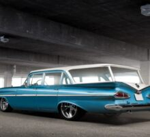 1959 Chevrolet Impala Wagon Sticker